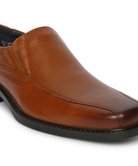 JOSHUA TRAMLINE LOAFER (TAN)