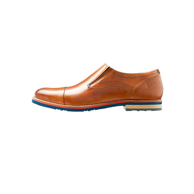 FLEETWOOD TOE CAP LOAFER (TAN)