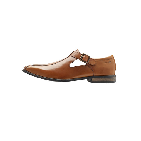 WIZARD DRESS STRAP SANDAL (TAN)