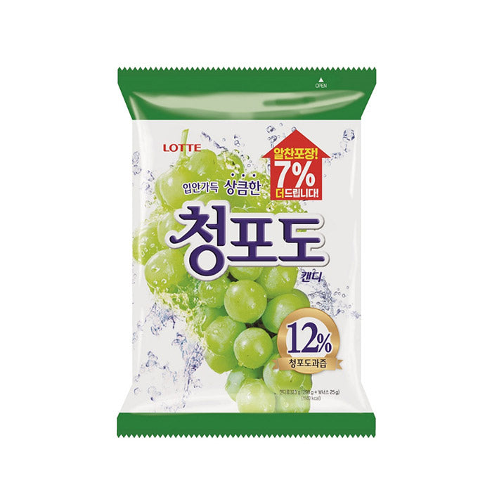 [Lotte] Green Grape Candy