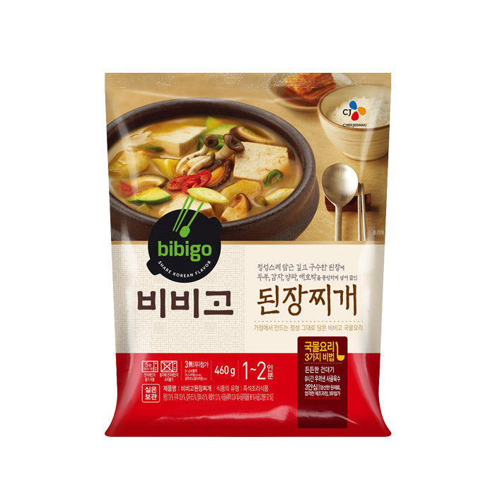 [CJ] Bibigo Korea Soybean Paste Soup (Doenjang Jjigae)