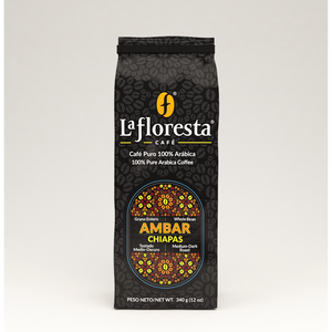 Roasted Arabica coffee beans from Chiapas, Mexico  ideal  to prepare espresso, latte cappuccino or drip coffee, whole beans and medium grind available  Medium to medium-dark roasted Highest quality coffee beans. Whole beans