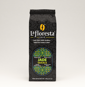 "Roasted Arabica coffee beans from Oaxaca, Mexico ""Pluma Hidalgo"" ideal  to prepare espresso, latte cappuccino or drip coffee, whole beans and medium grind available  Medium to medium-dark roasted Highly quality coffee beans. Medium Grind"