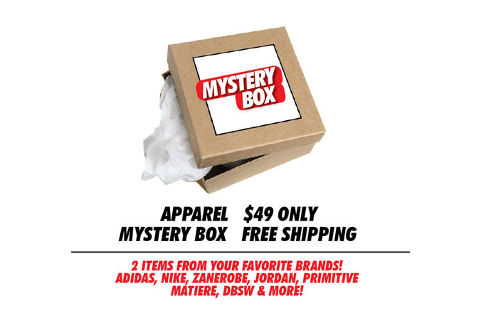 Mystery Box Apparel: 2 items in your size