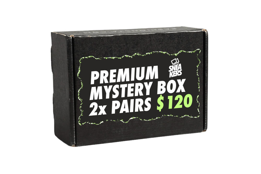 Premium Mystery Box: 2 Pairs of Sneakers in your size