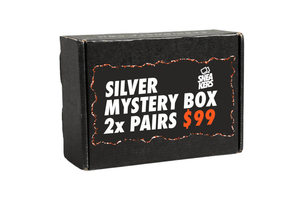 Silver Mystery Box: 2 Pairs of Sneakers in your size