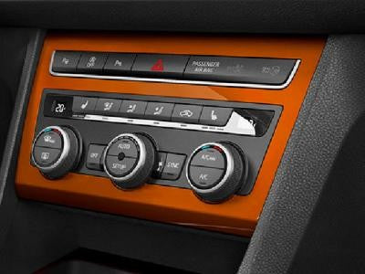 SEAT Ateca Air Conditioning Trim in Samoa Orange