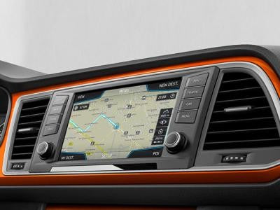 SEAT Ateca Dash Panel Trim in Samoa Orange