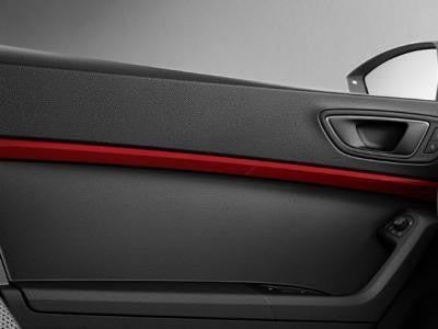 SEAT Ateca Door Trims in Emotion Red with LED Lights