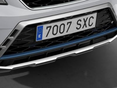 SEAT Ateca Front Bumper Insert in Connect Blue