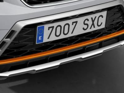 SEAT Ateca Front Bumper Insert in Samoa Orange