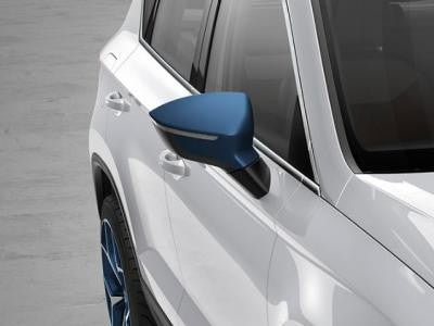 SEAT Ateca Mirror Caps in Connect Blue