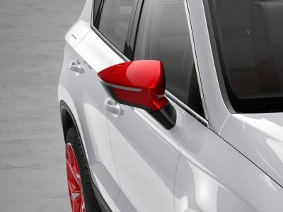 SEAT Ateca Mirror Caps in Emotion Red