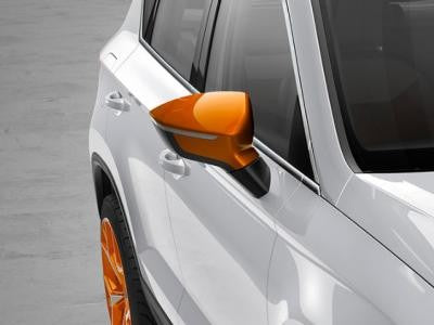 SEAT Ateca Mirror Caps in Samoa Orange