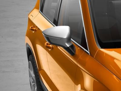 SEAT Ateca Mirror Caps in Crossover Silver