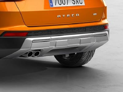 SEAT Ateca Rear Bumper Trim for Single Twin Pipe Exhaust