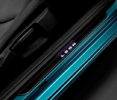 SEAT Leon 3 Door Side Sills Illuminated