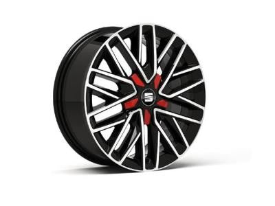 "SEAT Ibiza 17"" Alloy Wheel"
