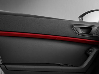 SEAT Ateca Door Trims in Emotion Red