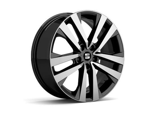 "SEAT Ateca 18"" Performance Alloy Wheel in Black"
