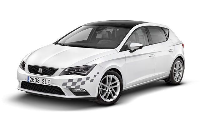 SEAT Leon Exterior Decorative Decal Flag Basis