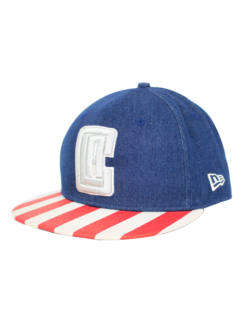 LA Clippers 9FIFTY Fully Flagged Snapback Cap