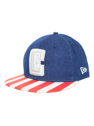 separation shoes 88150 60422 LA Clippers 9FIFTY Fully Flagged Snapback Cap