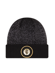 LA Clippers Youth On Court Black and Gold Cuff Knit Hat