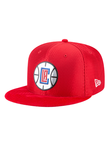 LA Clippers 59FIFTY Reverse Lux Mesh Faux Suede Fit Cap