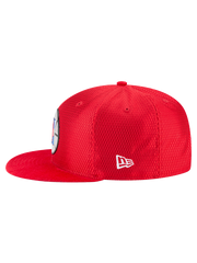LA Clippers 9FIFTY On Court Reverse Lux Mesh Faux Suede Adjustable Cap