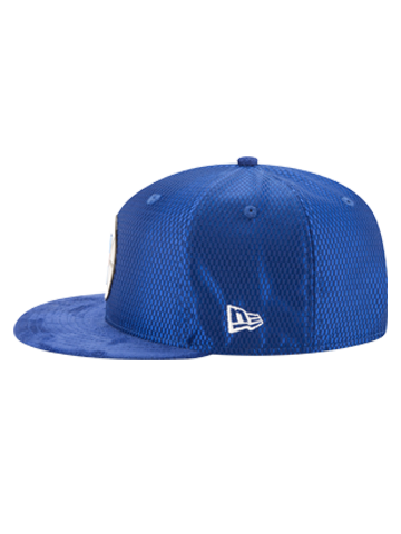 LA Clippers 2017 Draft 950 On Court Mesh Suede Snapback - Royal