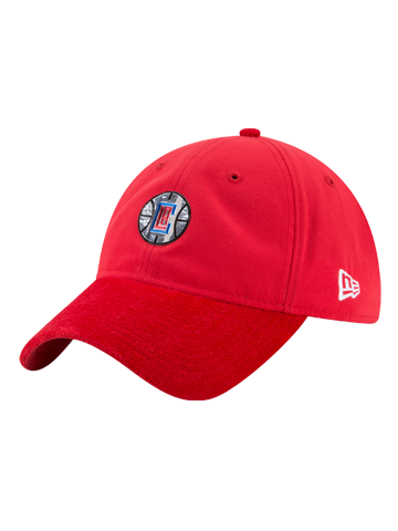 LA Clippers 9TWENTY Court Reverse Team Slouch Adjustable Cap