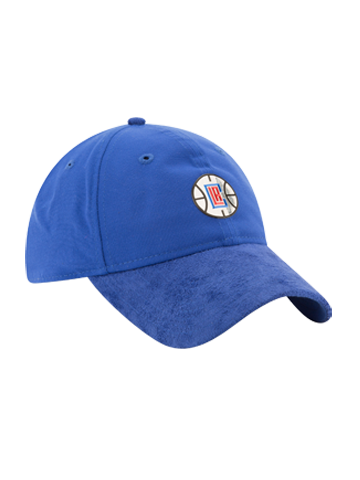 LA Clippers 2017 Draft 920 On Court Poly Suede Adjustable Cap - Royal