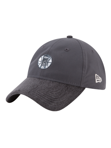 LA Clippers 9TWENTY On Court Graphite Slouch Adjustable Cap