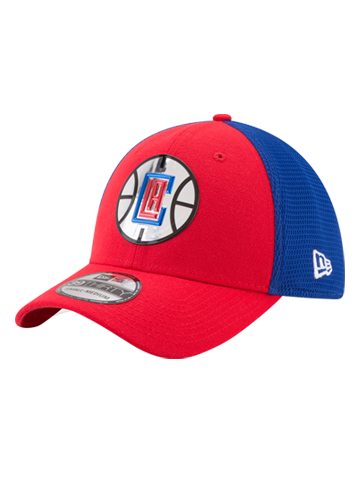 LA Clippers 39THIRTY On Court Reverse Team Flex Fit Cap