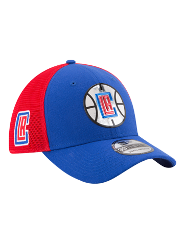 LA Clippers 39THIRTY On Court Team Flex Fit Cap
