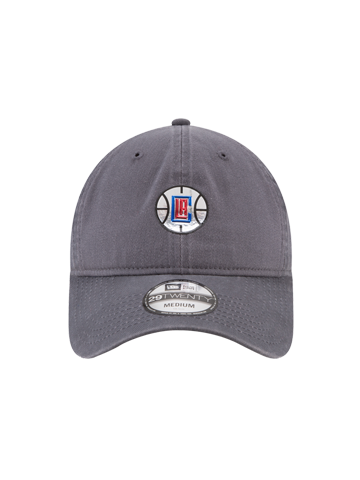 LA Clippers 29TWENTY On Court Graphite Slouch Fit Cap