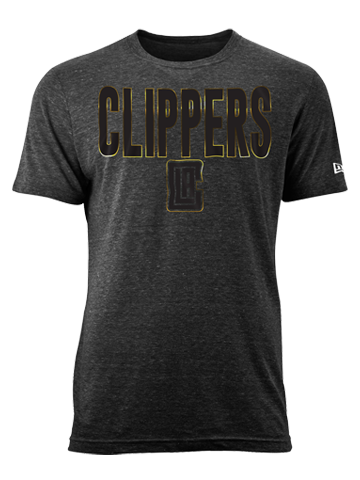 LA Clippers On Court Hook Foil T-Shirt