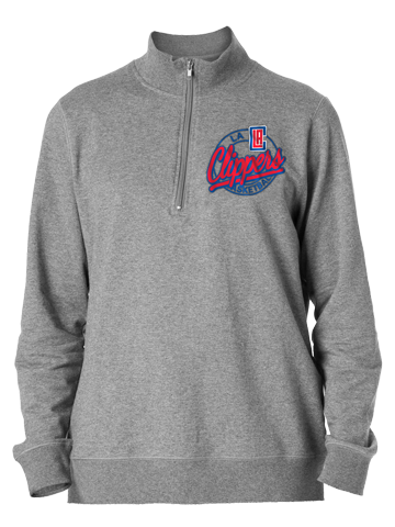 LA Clippers Terry Half Zip