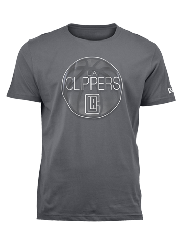 LA Clippers Silver Ball T-Shirt