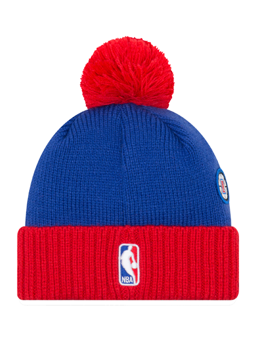 LA Clippers 2018 Draft Two-Tone Pom Knit