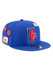LA Clippers 2018 Draft 9FIFTY Snapback Cap