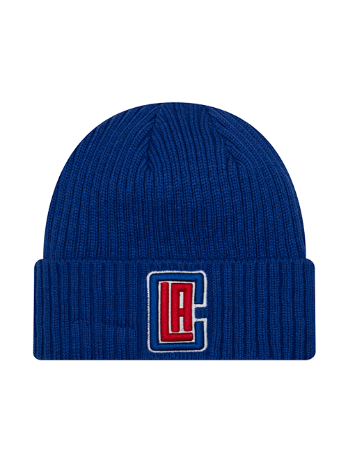LA Clippers Core Classic Knit Hat - Royal