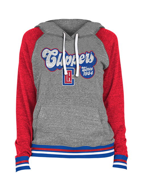 LA Clippers Women's 80's Pullover Hoodie