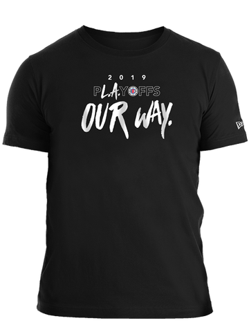 LA Clippers Playoffs Our Way T-Shirt
