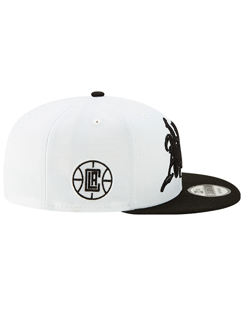 LA Clippers 9FIFTY City Edition Snapback Cap - White
