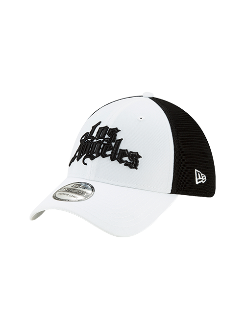 LA Clippers 39THIRTY City Edition Flex Cap - White