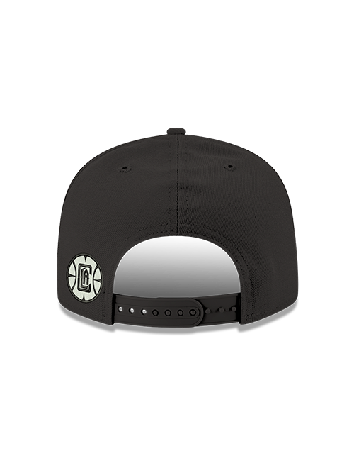 LA Clippers 9FIFTY Mister Cartoon LAC Adjustable Snapback Cap - Black