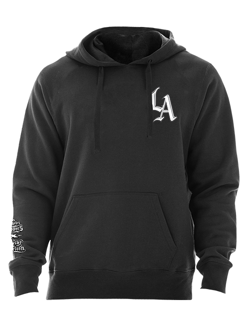 LA Clippers Mister Cartoon Pullover Hoody - Black