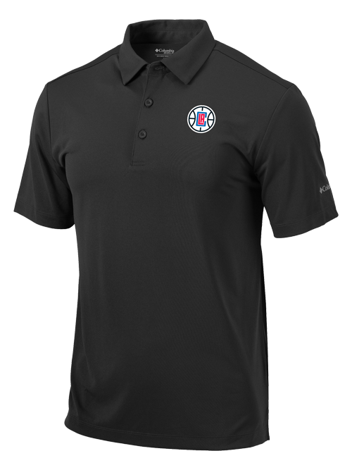 LA Clippers Drive Golf Polo - Grey